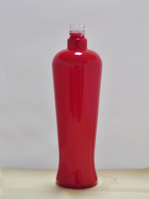 color glass bottle